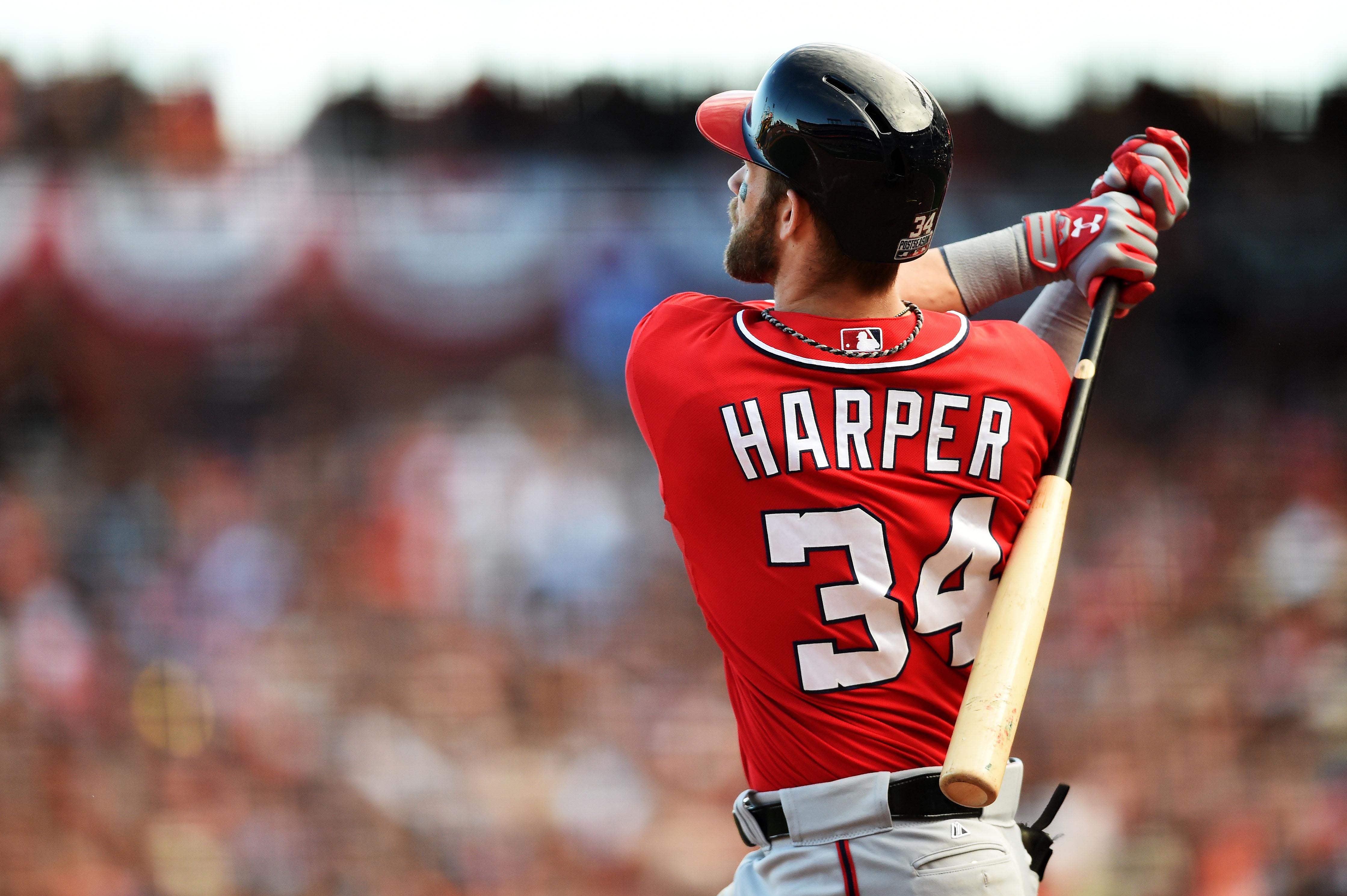 Under Armour signs reigning MVP Bryce Harper to multi-year extension