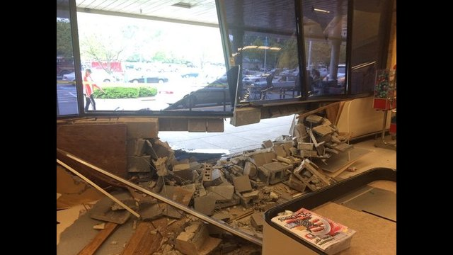 Two Injured After Car Crashes Into Md Grocery Store