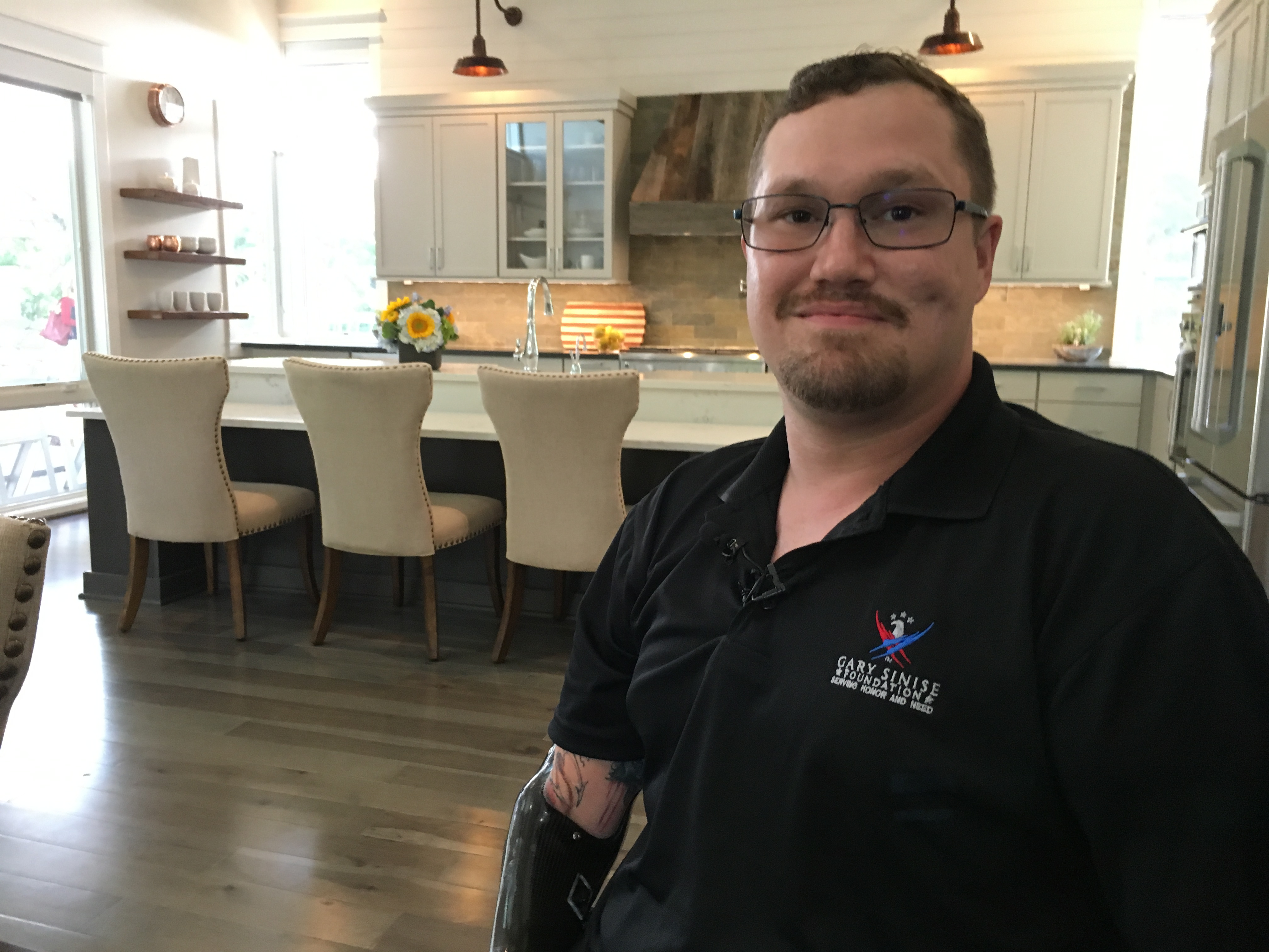 wusa9.com | Grievously wounded Army veteran gets a free home