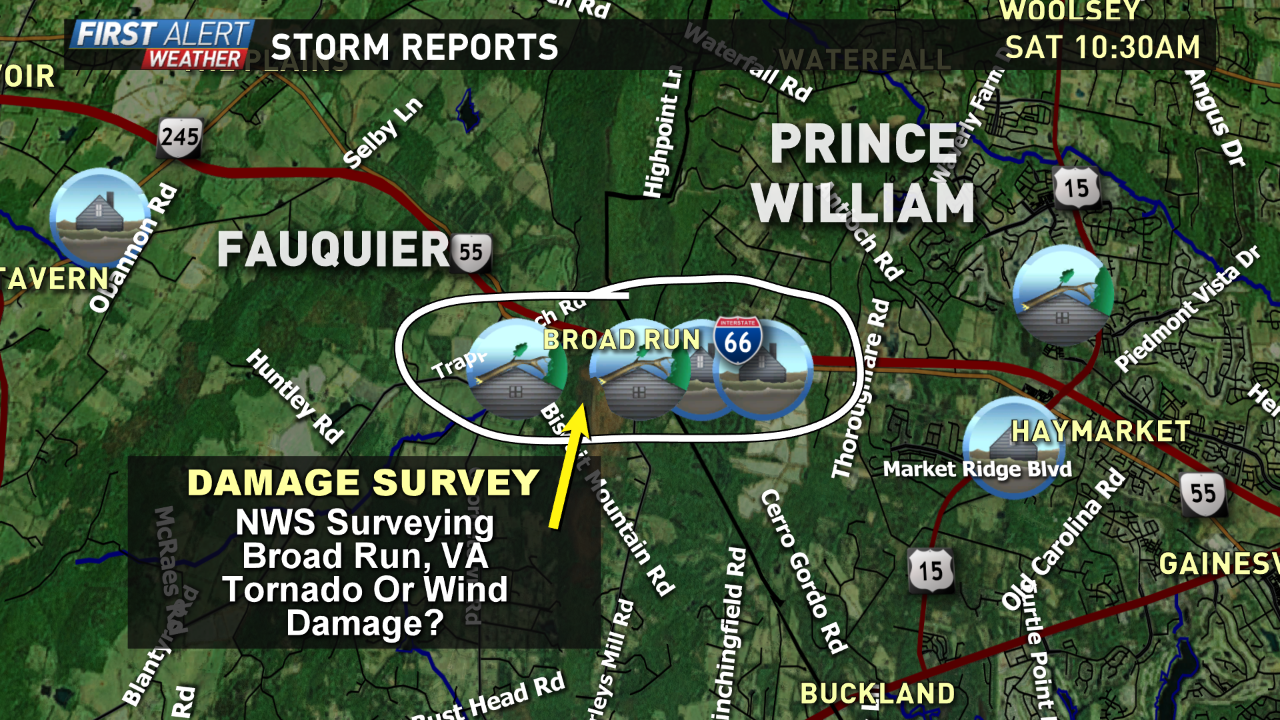 Tornado Touched Down In Va National Weather Service Confirms Wusa9 Com