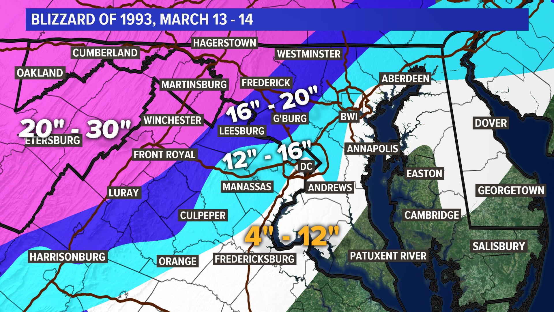 DC's 15 worst winter storms | wusa9 com